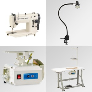 "Reliable, 20U73, industriaL zigzag,reliable industrial zigzag,copy of singer 20u,reliable 20u73,copy of singer 20u73, Reliable 20U73 (Singer 109) 9mm ZigZag 6mm Straight Stitch Sewing Machine 15 3/4x7"" Flatbed, Power Stand 2500SPM 110V DC Motor, 100 Needles & Lamp*"