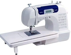 Brother, CS-6000i, CS6000, CS-6000, EX660, HS2000, HS2000PRW, cs6000i, sew advanced, sew affordable, 60/ 100 Stitches, Computer LCD, Sewing Machine, 10 Pounds, Extension Table, 7 x 1-Step BH's, 7mm Zigzag, Threader, Cutter (Ex660, HS2000)