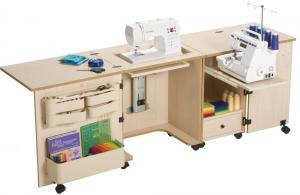 Sylvia KIT-1000-Color Sewing/Serger Cabinet