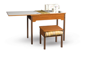 Fashion 473 Deluxe School Desk with Leaf, Slide Fold Lift, Roberts
