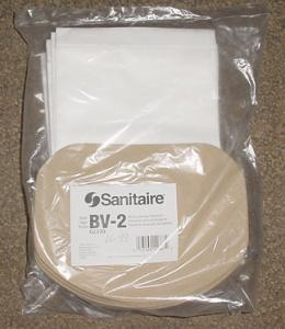 Sanitaire 62370 Style BV-2 10 pack Backpack Vacuum Cleaner Bags for Model SC412A Back Pack Vacuum Cleaner