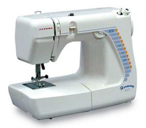 Janome Harmony 1017S Jem Lite 3/4 Size 10 Stitches, 17 Function, Buttonhole, 11Lbs, Sewing & Quilting Machine, Like New Home 609, HF106 and Janome 639, Janome Harmony 1017S 10/17 Stitches 3/4 Sew & Quilt Machine, Buttonhole MetalBobbinCase 11Lb (HF106 609 639 1117 11706 Hello Kitty 3128 Kenmore 11206)
