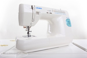 Juki, HZL-35Z/UL5, Mechanical Sewing Machine, HZL35Z, Drop-in Bobbin, 27 Stitch Patterns, 1-Step Buttonhole, 16 Pounds,  - FREE 100 Organ 15x1 Size 14 Needles