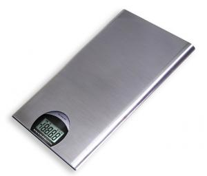 Escali T115S Tabla Ultra Thin Stainless Steel Digital Scale