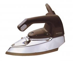 Hashima, HI-350PS, Professional, Gravity Feed, Steam Iron, - Made in Japan, 5 pounds, Hashima HI-350PS Professional Gravity Feed Steam Iron HI350PS JAPAN, 1200W, Electronic Thermostat, Cleanout Ports, 3L Water Bottle, Demineralizer, 4Lbs