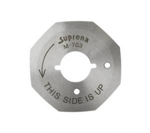 Reliable M703 Two 8-Sided Replacement Cutting Blades 2.5&quot; 50mm, for XD-1005A Suprena JAPAN HC-1005A Handheld Rotary Fabric Cloth Cutter Machines