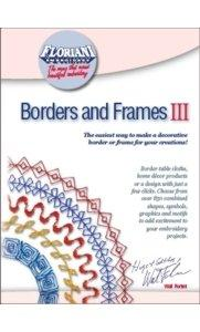 Floriani, Borders, and Frames, III Embroidery Software, Over 850 combined shapes, symbols, graphics and motifs. Over 40 easy to use style sheets