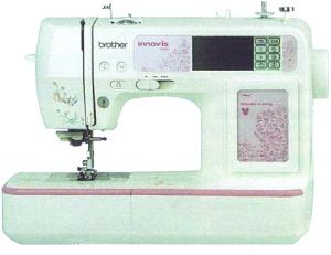 "Brother, 900d, 950d, nv900, nv950, nv900d, nv950d, babylock sofia BL137A, innov-is, 67 Stitch,   Sewing, 105 Designs, Embroidery Disney, Pixar Machine, 6 Fonts, USB Cable, 4x4""Hoop, 10x 1Step Buttonhole,Trim (Babylock Sofia, without Disney)"