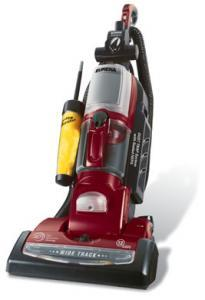 "Eureka 5902BVZ RB Boss 4D Bagless Upright True HEPA Vacuum, VARIABLE SPEED On/Off Brush Roll, 15"" Wide Path, Spinduster & Power Paw, Refurbished"