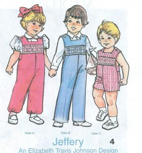 Childrens Corner Jeffery By Elizabeth Travis Johnson  Pattern