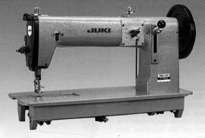 Juki, TNU243U, Heavy Duty, Unison Feed, Walking Foot, Industrial Sewing Machine, 20mm Foot Lift, and Assembled Power Stand, - FREE 100 Organ Needles