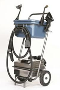 "Euro Steam, ES1900G, Dry Vapor, Steam Cleaner, 12"" inch Wide, 185-316°, 3 Liter, 1600W, 13A, 4.5Bar, 68PSI, 12' foot Hose, 14' foot Cord, GOLD package: Cart, Bucket, 12 Towels, 13 Tools, ITALY  18 Months"