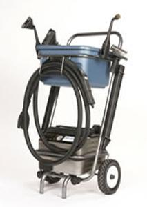 Euro Steam, ES2100s, Dry Vapor, Steam Cleaner, 12&quot; inches, 1600 W, 13.5 A, 3 Liter Boiler, 185-316 F, 68 PSI, 4.5 Bar ,12' Hose, 14' Cord SILVER,: 12 Towels, 13 Tools, ITALY, 25Lb