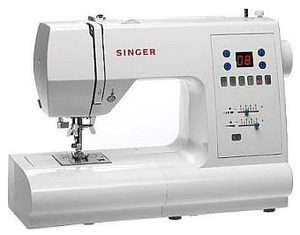 Singer, 7466, Touch & Sew, 70 Stitches, 120 Functions, FULL SIZE, Computer Electronic Sewing Machine, 3 1-step BH, Keyhole BH, Drop In Bobbin, 25/5Yr Wnty