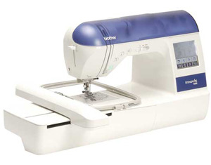 "babylock blr, ellure blr, Brother, NV1000FS, 128 Stitch, Sewing, & 5 X 7"", Embroidery, Card Machine, Thread Trimmers,136 Designs,120 Border Frames, 6 Fonts, Card Port, 3700 Designs CD"