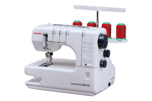 "Janome,  Elna 434, ELNA 444,  1000-cpx,1000CPX, CoverPro, Cover Hem, and Chain Stitch, Machine, differential feed, FreeArm, 1, 2 or 3 Needle, Straight Top Stitches, up to 1/4"" Wide, - Replaces, 900CP, Cover Pro"
