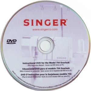 Singer 5052550AM Instructional DVD for Quantum XL 1000 Sewing and Embroidery Machine