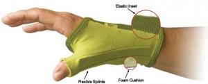 Creative Comfort CC82306 Ergonomic Crafters Comfort THUMB Glove MEDIUM, Home or Commercial Sewing Cutting QuiltsEmbroidery Craft Upholstery Knitting