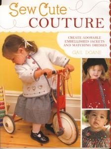 Gail Doane Sew Cute Couture Book