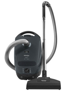 Miele S2121 Capri Lightweight Canister Vacuum Cleaner, Variable Suction, STB 205-3 Turbo Brush, SBB Parquet-3, standard floor tool, Cord Rewind, 7 Year Vortex Motor, 5Yr Ext Warranty