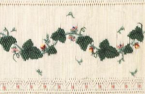 Little Memories Poised-n-Ivy Lm80 Smocking Plate