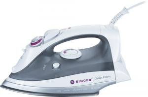 Singer Classic Finish Iron CF.01, cf01, Vertical & Burst Steam, 1700W,  3 Temp. Settings LCD,  Fabric Guide, Cool Spray Mist, Anti Calc, Anti Drip, Auto Off