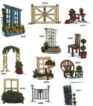 Amazing Designs / Great Notions 1273 Gates and Windows Collection I Multi-Formatted CD