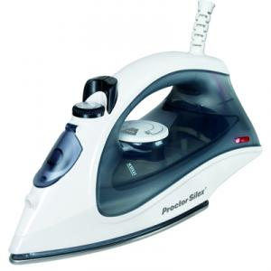 Proctor-Silex 17171 Steam Iron, Stainless Steel Non Stick Soleplate, 3 Way Auto Off, Temp Dial Fabric Guide, Var Steam &amp; Blast, Self Clean, 2.4 Pounds