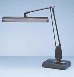"Dazor, 2324E, 15 WATT,  Professional,  27"",  Floating Arm, Desk Lamp, with Two, Light Tubes, 2324"