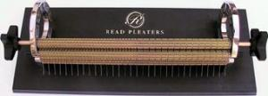 "Read 32, 32 Needle, 32 Row, New Style, Smocking Pleater Machine, Made in S.A.m, - FREE Perfect Pleats for Smocking DVD Video, Read 32 Needles & Rows, 33 Half Spaces, 12.5"" Inches or 33% Wider Smock Gather Pleater Machine, 2 Turn Knobs, 2 Roll Pins, 12 Extra Needles, DVD Video"
