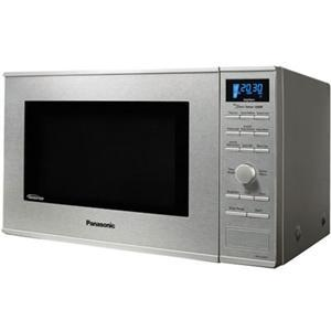 Panasonic NNSD681S Microwave Oven, Single Oven Type, 1.20 ft³ Oven Capacity, 1.20 kW of Power, Stainless Steel Material, Silver Button Control Panel