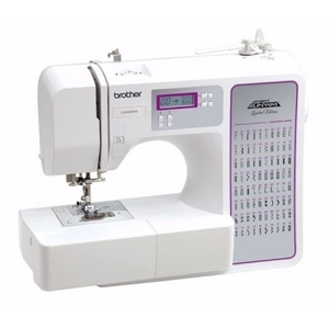 Brother, CE8080PRW, FS, RCS8800prw, ce8080, cs8800, 80/120 Stitch, Project Runway, Computer, Sewing Machine, LCD, 8x1-Step BH, Threader, Drop Feed, Free Motion, Top Load Bobbin, 7 Feet, 850 SPM, 11 Lbs