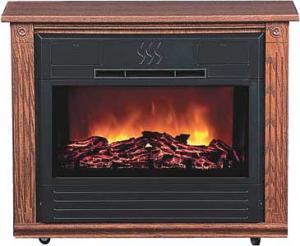 Sears Heat Surge Roll N Glow Electric Fireplace Dark Oak 2015 Home Design Ideas