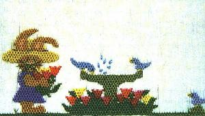 Cherished Stitches CS03 May Flowers Smocking Plate