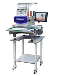Ricoma, RCM-1501TS-12H,  RCM-15015, 1501/1201/0601TS-12H, 15 Needle, Industrial, Embroidery Machine, 550 x 350mm, 22x16 Embroidery Area, Ricoma, RCM-1501TS-12H, 15 Needle, Embroidery Machine, Stand, 10 LCD, 550x350mm, 22x16, Hoops 13, 270° Cap, Thread Trim, Color Change, 1200SPM, DISC, Software