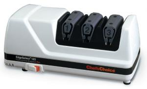 Chef'sChoice 120 Diamond Hone EdgeSelect Professional Knife Sharpener Platinum