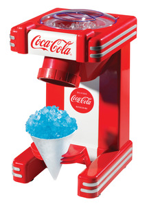 New Nostalgia Electrics Coca-Cola Series RSM702COKE Single Snow Cone Maker