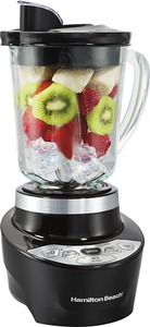 New Hamilton Beach 56205 Smoothie Smart Blender, 700 Watt, 40oz Jar, One Touch Automatic Cycle, Powerful Ice Crushing Sabre Blades, Patented Wave-Action