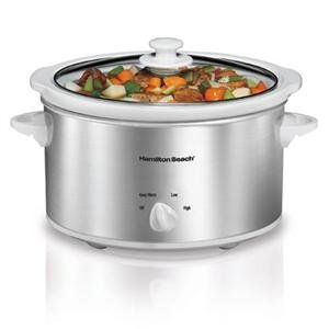 New Hamilton Beach 33140V 4 Qt. Slow Cooker