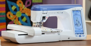 Brother, Duetta, Duetta 2, 4750D, 4750, babylock ellegante 3, Sewing, Quilting, 7x12, Embroidery, Machine, innovis, Disney, 416 Built in Designs, 487 Stitches, ELS, Placement Kit, Hard Cover