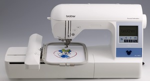 "Brother, PE780D, Demo, +5 Hoops, 5x7""-5x12"", Embroidery Machine, 13 Extras, $500+ Values! USB Stick, 170 Designs, 52 Disney, 6 Fonts, 120 Borders, Threader,  Trim, 650SPM"