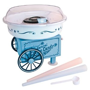 New Nostalgia Electrics PCM305 Vintage Collection Hard & Sugar-Free Cotton Candy Maker