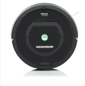 iRobot, Roomba 770, Robotic Vacuum Cleaner, Cleaning Robot, Dual HEPA Air Filters, On Board Scheduling, Full Bin ID, Pet Hair, AeroVac Bin, Home Base, 8Lbs