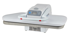 "Kalorik, STP 30138, Steam Burst, Ironing Board, Digital Press, 1200W, 22x9"", LED Display Panel, Adj Temp, Dry Setting, Non Stick, Heat Shoe, Plate, Auto Off"