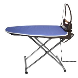 EuroFlex, Monster IB40, Interactive, Vacuum, & Up Air, Blowing, Ironing Board, Aluminum, WITH Steam Generator, Iron, Teflon Soleplate, Stainless Steel, Boiler, ITALY