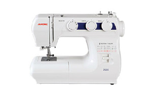 Janome 2222, 22 Stitch, Mechanical, Sewing Machine, 1 Step, Buttonhole