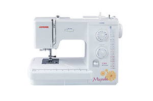 Janome, Magnolia, 7325, 25 Stitch, Mechanical, Sewing Machine, 1 Step Buttonhole