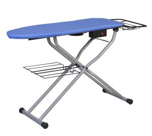 Reliable, C81, reliable PA012/1, c81, PA012/1, PA0121, ironing board, Vacuum Up-Air, Pressing Table, Reliable C81 Foot Pedal Down Air Vacuum &amp; Up Air Blowing Board, Heated Ironing Table, 49&quot;x16&quot;, Galvanized Steel Mesh, Iron Basket &amp; Fabric Tray, ITALY