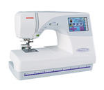 Janome MC9700 &amp; 25/10YrExtWnty* (MC9500+Color Screen) 5.5x7.9&quot; Hoop Embroidery Sewing Quilt Machine 96Designs 3Fonts Resize 90-120% ATA Card Port .jef