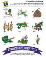 Amazing Designs / Great Notions 1176 Gardening I Multi-Formatted CD